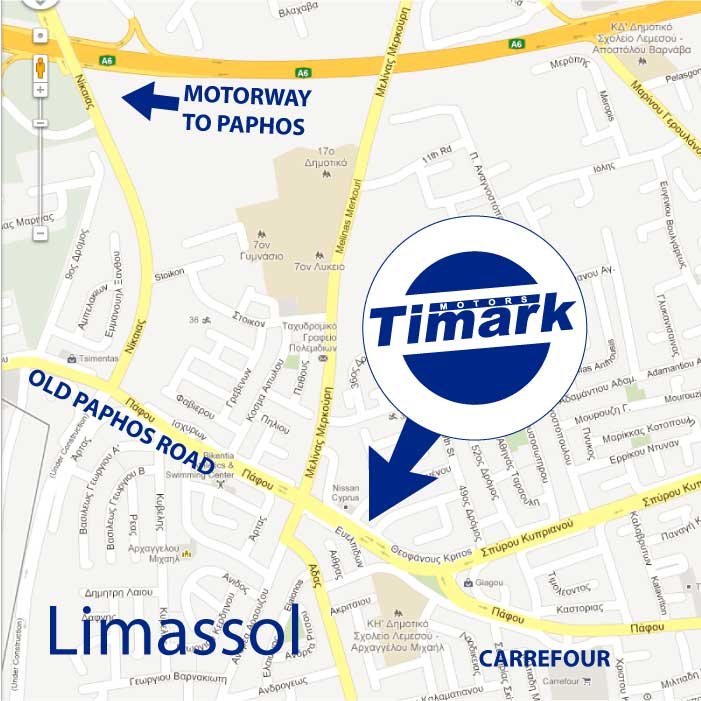 Car dealer in Limassol Cyprus